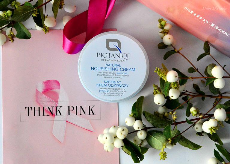 THINK PINK by ShinyBox - BIOTANIQE Naturalny krem odżywczy