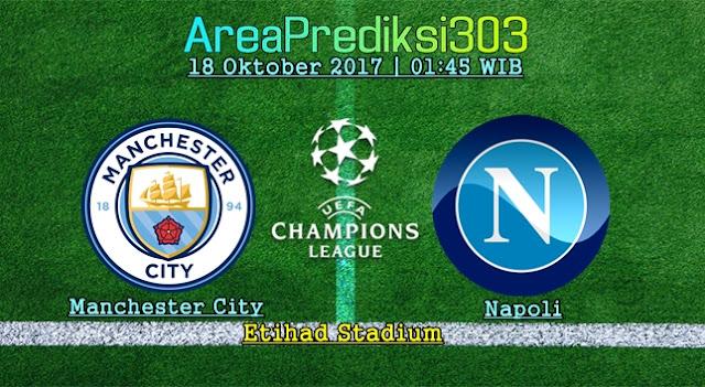 Prediksi Jitu Manchester City vs Napoli 18 Oktober 2017