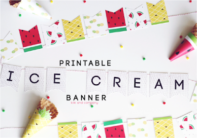 printable fruit banner