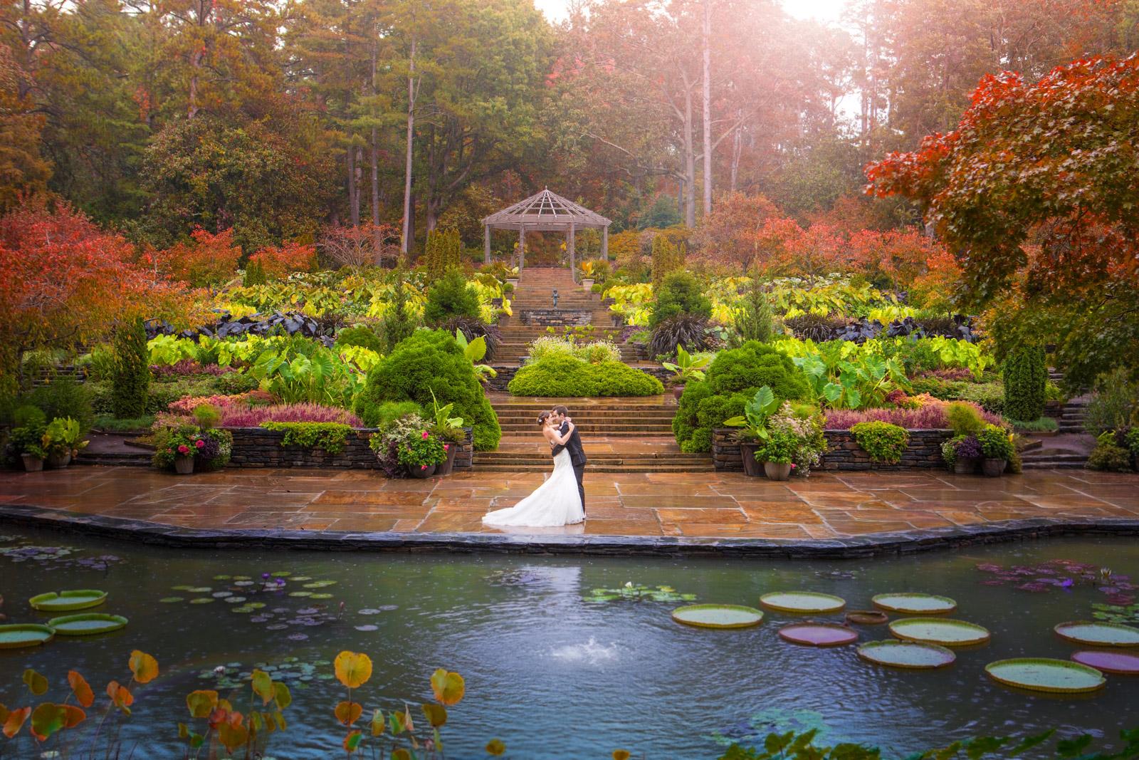 Sarah P. Duke Gardens Wedding   Marine and Joe   Effervescent Media ...