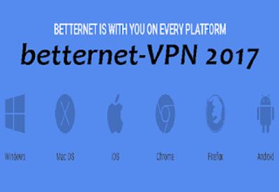 تحميل برامج فتح المواقع المحجوبة 2017 betternet vpn مجانا
