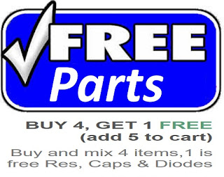 Free Parts on Resistor and Capacitors