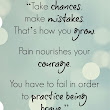 Take Chances Quote - Free Printable