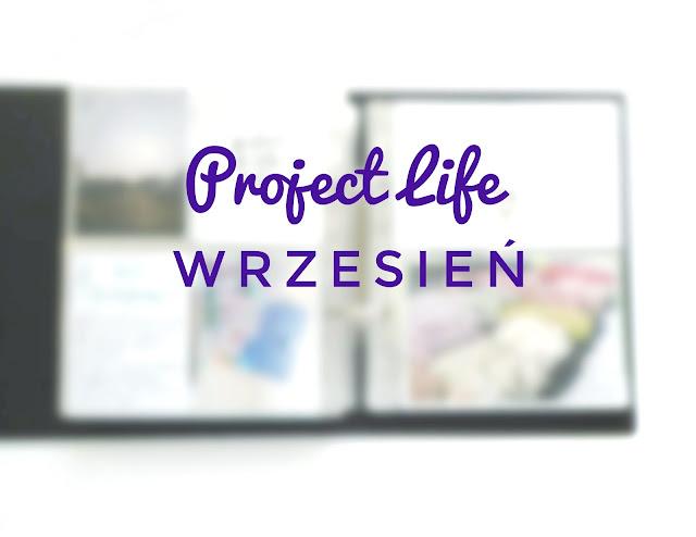 Project Life we wrześniu