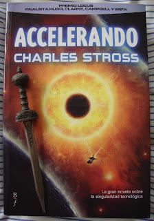 Portada del libro Accelerando, de Charles Stross