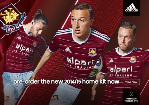 ... West Ham United FC See our Kits and Jerseys section for more of the  latest football shirt releases. 8db34286e