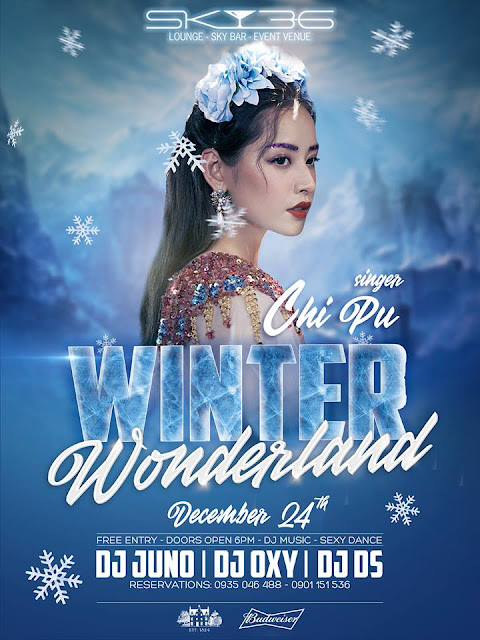 WINTER WONDERLAND | CHRISTMAS PARTY WITH CHI PU - SKY36 BAR