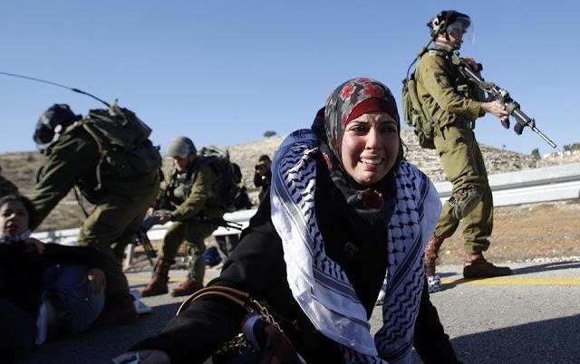 Israel Tangkap Gadis Palestina Gara-Gara Membawa Pisau