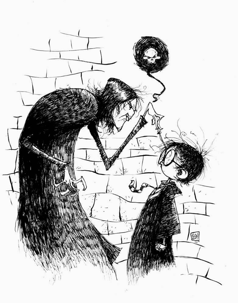 David Petersen's Blog: Harry Potter Art collection