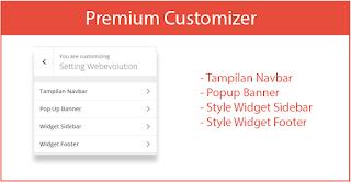 template wordpress premium webevolution