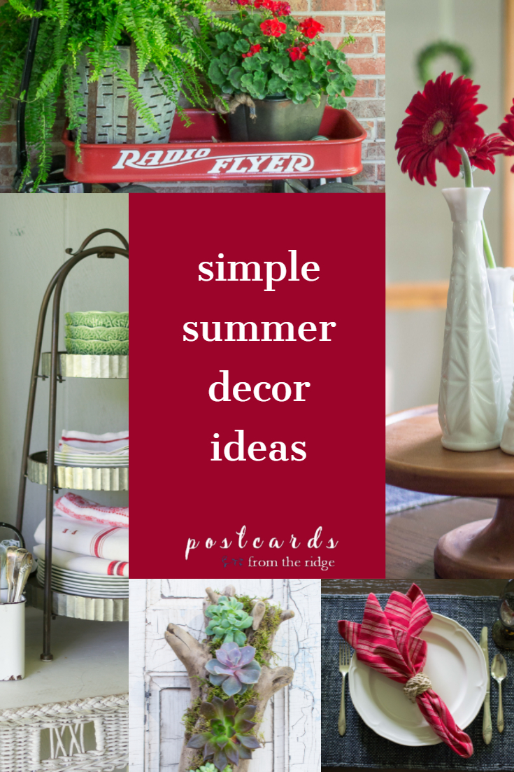 Simple Decorating Ideas For Small Living Room: 5 Simple Summer Decorating Ideas