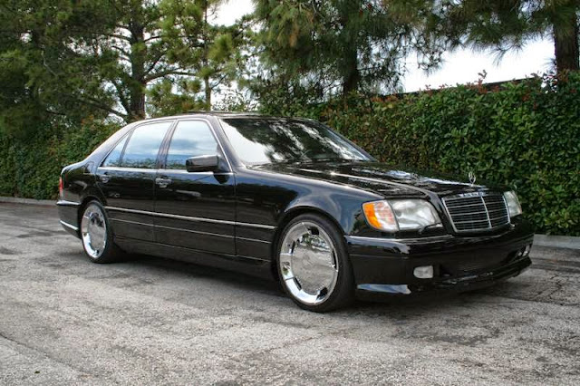 mercedes s500 w140 wald body kit
