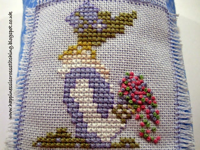 Mother cross stitch pattern by Lynn B