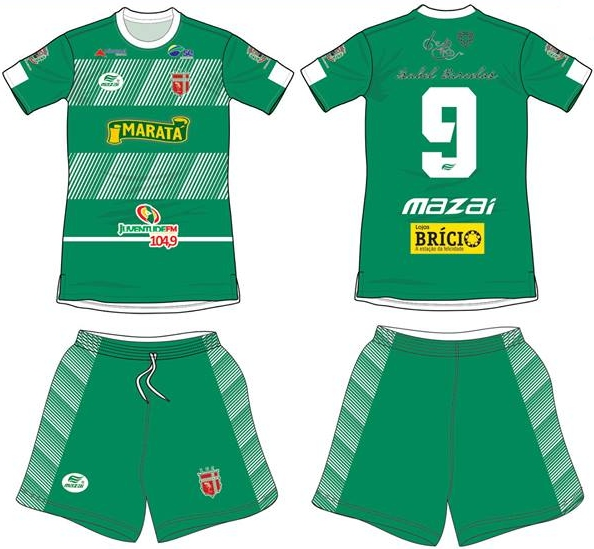725ef2c66 Mazai apresenta as novas camisas do Lagarto - Show de Camisas