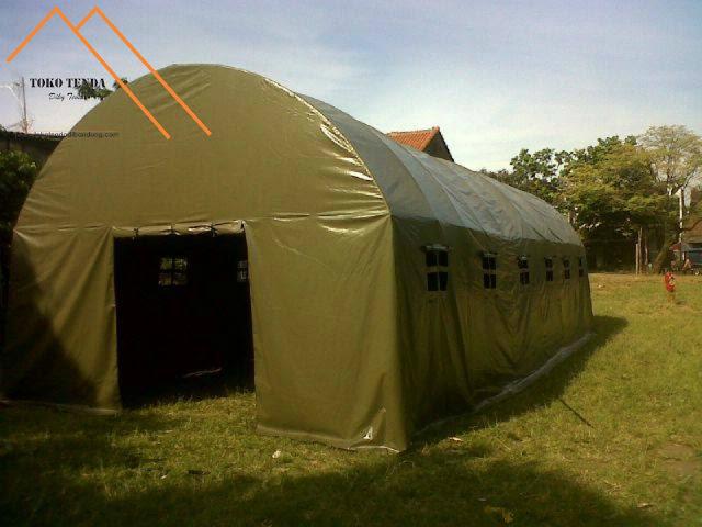 Tenda - Lorong - Standar - TNI