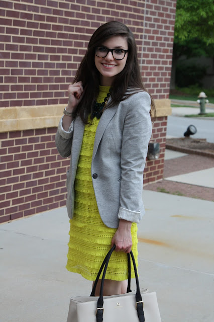 2017, summer, work wear, neon, Kate Spade, J.Crew, OOTD,
