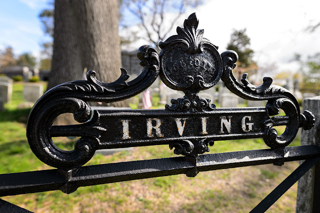 Gate to Irving Family Graves