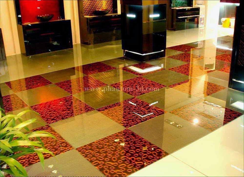 Foundation Dezin & Decor...: Floor Glass Tiles.