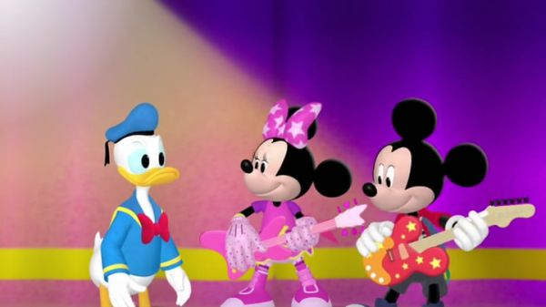 MICKEY MOUSE: We want ya to sing with us!