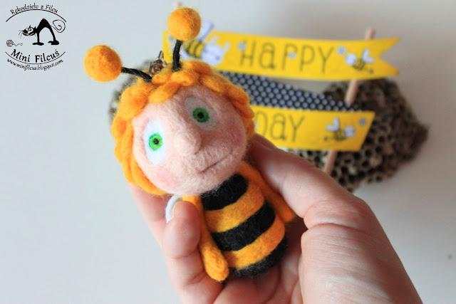 Pszczółka Maja – Filcowy Brelok