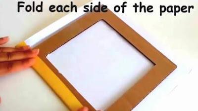 Lipat setiap sisi kertas