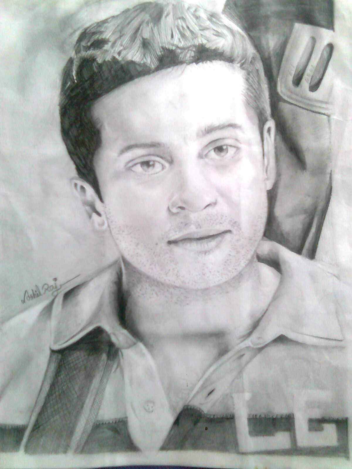 DRAW IT: Awesome Pencil Drawing of Actor Surya