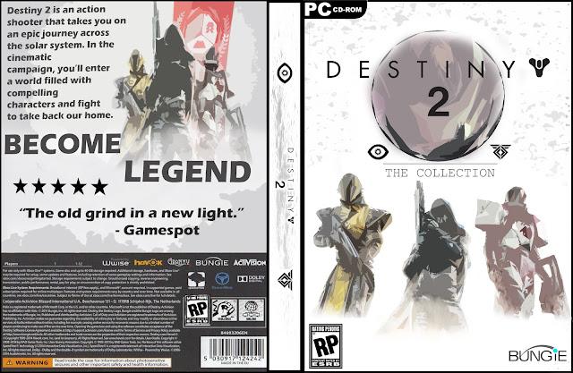 Capa Destiny 2 PC