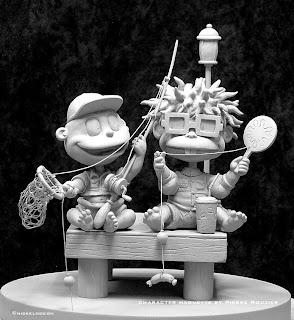 "pierre rouzier_Nickelodeon - ""rugrats"" maquette"