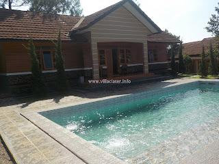 daftar villa di ciater dengan kolam renag pribadi