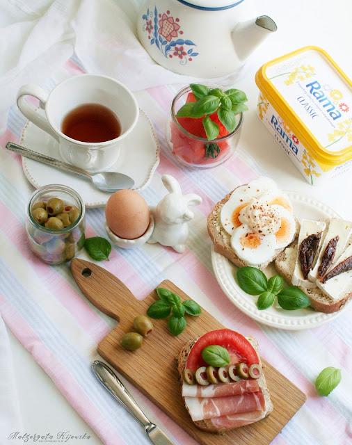 śniadanie, kolorowe kanapki, co na śniadanie, dzień dobry, daylicooking