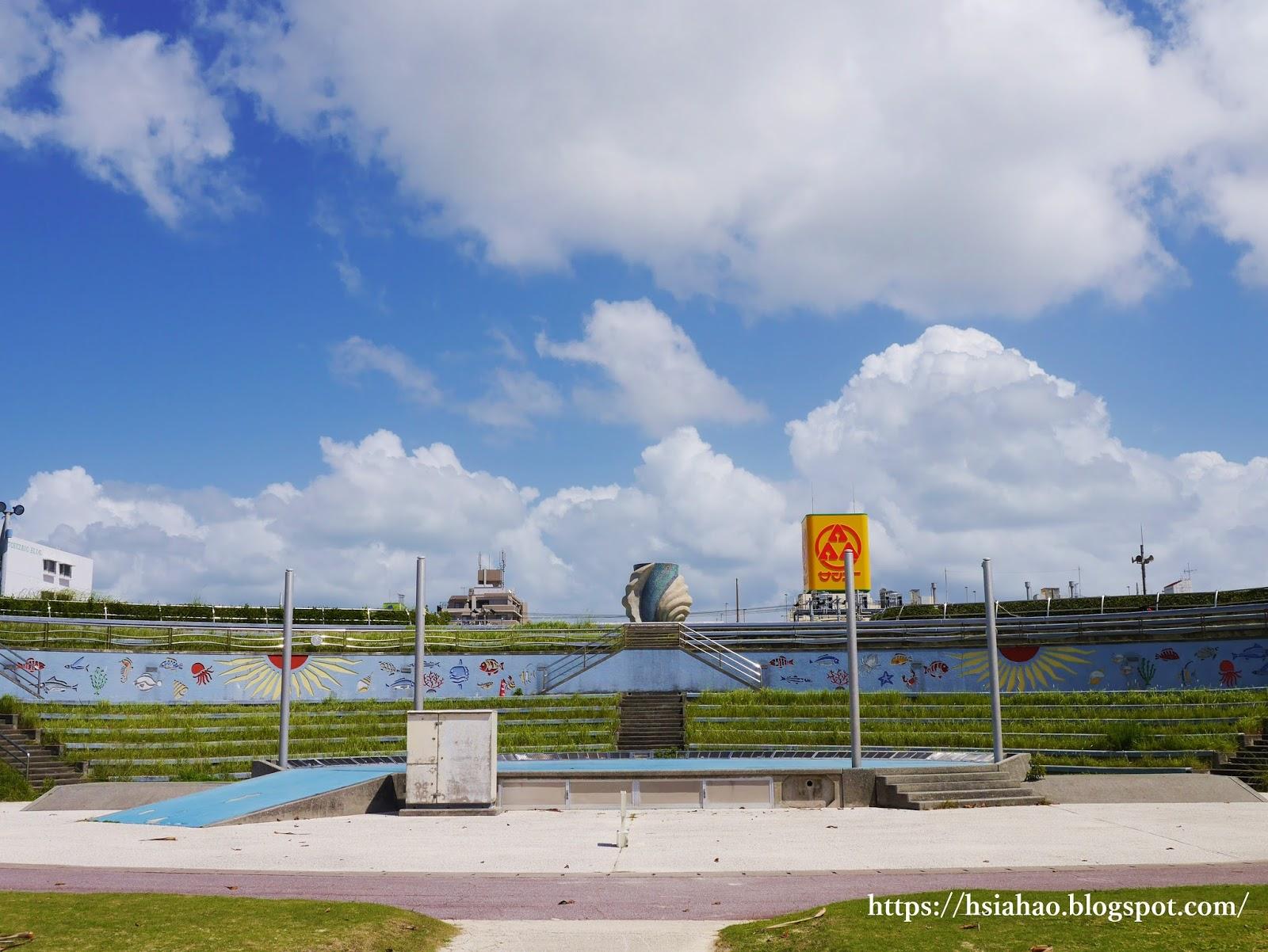 沖繩-美國村景點-推薦-安良波公園-Araha-Park-自由行-旅遊-Okinawa