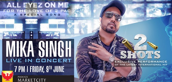 Mika Singh - Live in Concert Bookmyevent
