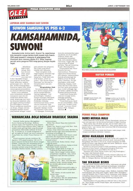 SUWON SAMSUNG VS PSIS 6-2 KAMSAHAMNIDA, SUWON