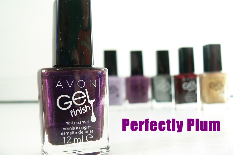 Avon Gel Finish Perfectly Plum opakowanie