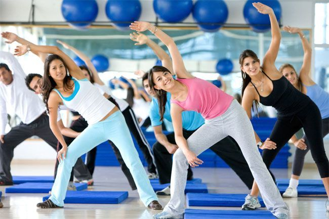 Lose weight in a week with aerobic