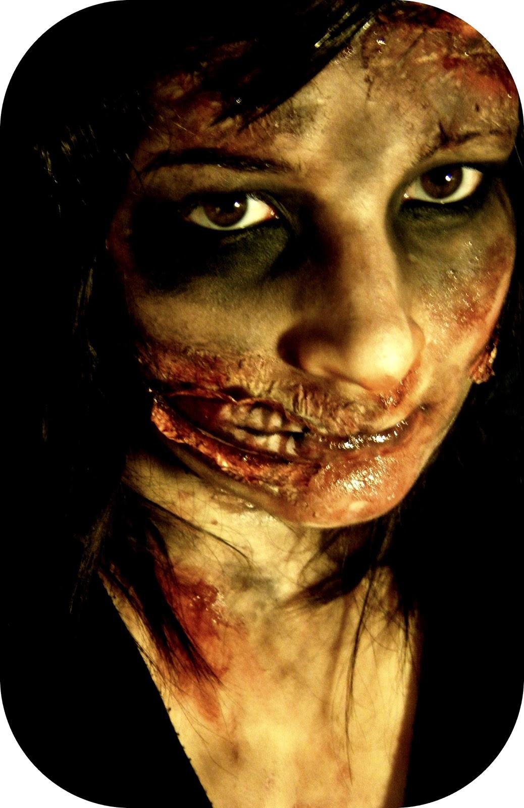 mon petit coin beaut maquillage halloween le zombie. Black Bedroom Furniture Sets. Home Design Ideas