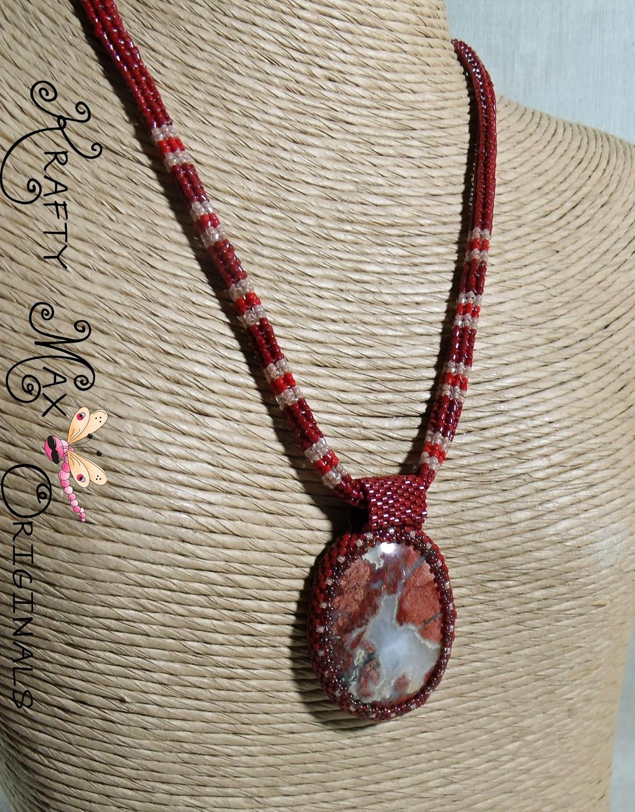 http://www.lajuliet.com/index.php/2013-01-04-15-21-51/ad/beadwork,46/red-velvet-and-cream-handmade-beadwoven-necklace-set-a-krafty-max-original-design,226