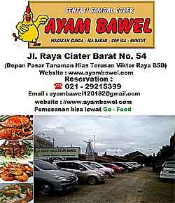 Rumah makan Bawel Ciater