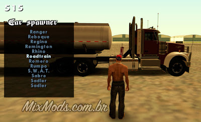 gta san andreas vehicle car spawner spawn gear aparecer carros veículos