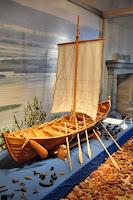 makieta łodzi wikińskiej z Truso