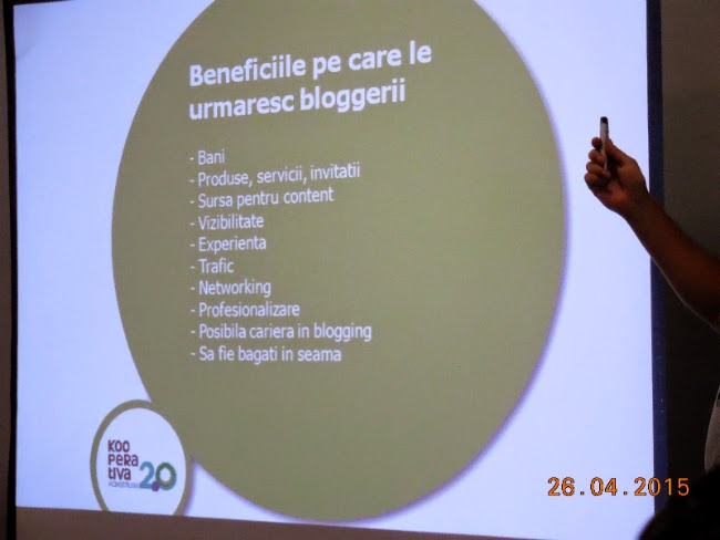 Beneficiile dorite de bloggeri
