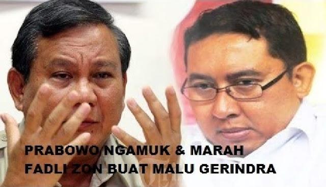 Bah GASWAT, Prabowo Angkat Bicara dan Nyindir Fadli Zon yang Bikin Sesak!
