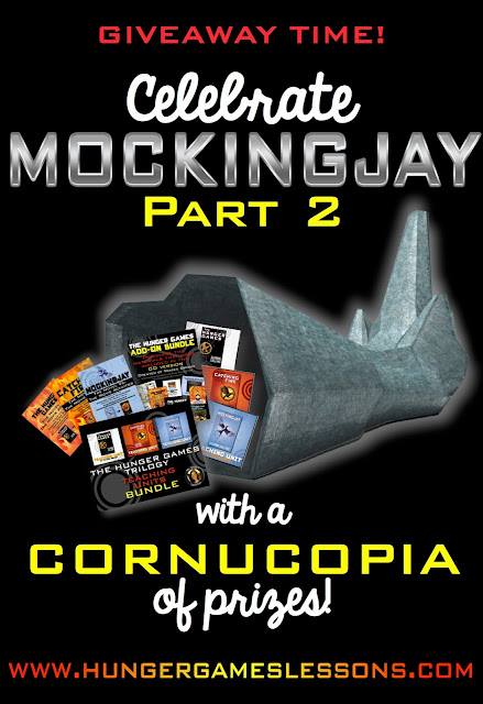 Mockingjay Part 2 Movie Release Giveaway for Teachers