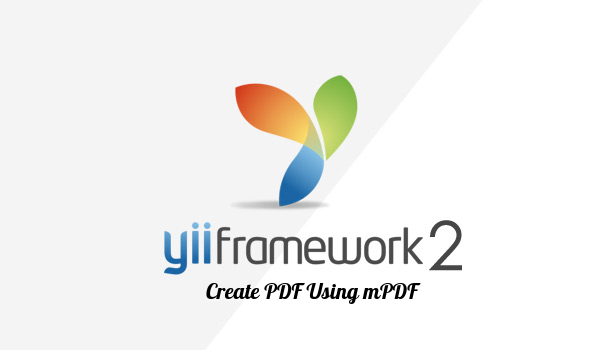 How to create PDF in yii2 using mpdf library | WantCode ! Progamming
