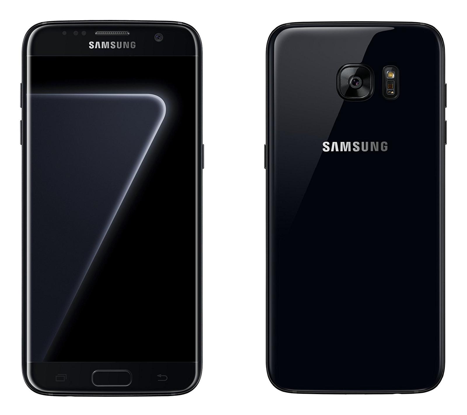 Samsung Galaxy S7 Edge Black Pearl With 128gb Storage