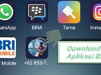 Cara Download Aplikasi BBM APK Gratis All Operator Terbaru 2018