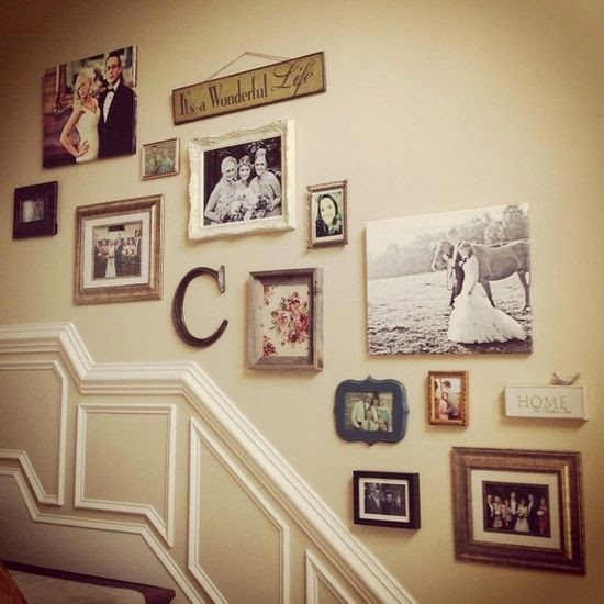 50 Creative Staircase Wall decorating ideas, art frames ... on Creative Staircase Wall Decorating Ideas  id=54146