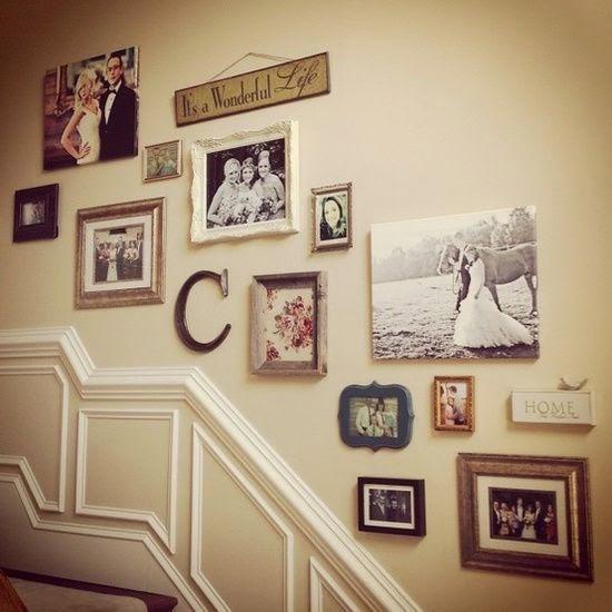 Creative Staircase Design Ideas: 50 Creative Staircase Wall Decorating Ideas, Art Frames