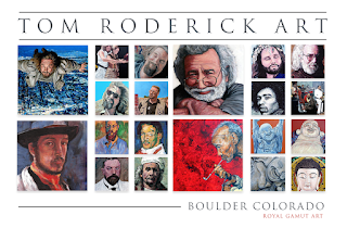 Tom Roderick Boulder portrait artist mosaic