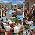 Policiais da 8ª CIPM  distribuem cestas básicas em Pesqueira, PE